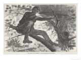 U.S. Civil War Sharpshooter Impression giclée par Winslow Homer