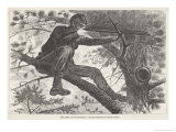 U.S. Civil War Sharpshooter Giclee Print by Winslow Homer