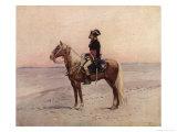 Napoleon I During the Egyptian Campaign 1798 Reproduction giclée Premium par Edouard Detaille