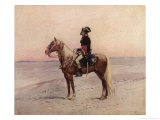 Napoleon I During the Egyptian Campaign 1798 Giclee Print by Edouard Detaille