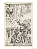 The Prince Throws the Apple to the Princess Giclee Print by Henry Justice Ford