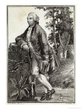 David Hume Scottish Historian and Philosopher Giclee Print by Gianbattista Bosio