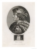 King John of England Reigned: 1199-1216 Son of Henry II Giclee Print by J. Chapman