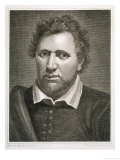 Ben Jonson Writer Reproduction procédé giclée par Philipp Audinet