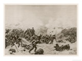 Scene of Fighting During the Siege of Sebastopol Giclee Print by Henri Dupray