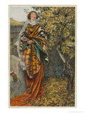 Vivien Slighted by King Arthur Giclee Print by Eleanor Fortescue Brickdale
