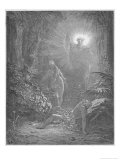 God Creates Eve Giclee Print by Gustave Dor&#233;