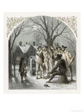 The Traditional Wassailing of the Fruit Trees on Twelfth Day Eve Giclee Print by Birket Foster