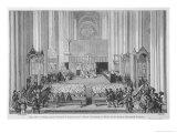 The Council of Trent Initiates the Counter-Reformation Giclee Print by Fesquet & Huyot
