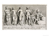 The Judgement of Paris Giclee Print by Pietro Santi Bartoli