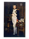 Napoleon Emperor Circa 1804 Reproduction procédé giclée par Jacques-Louis David