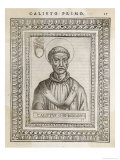 Pope Callistus I Pope and Saint Giclee Print by  Cavallieri