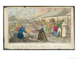 "Billingsgate ""Tom and Bob"" at Billingsgate Market Taking in the Sights Giclee Print by Henry Thomas Alken"