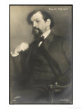 Claude Debussy French Composer Reproduction procédé giclée par Jacques-emile Blanche