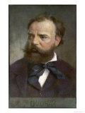 Antonin Leopold Dvorak Czech Musician Giclee Print by  Eichhorn