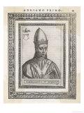 Pope Hadrianus I Giclee Print by  Cavallieri