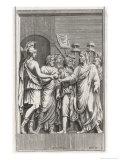 Gaius Julius Caesar Augustus Giclee Print by Pietro Santi Bartoli