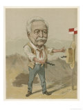 Ferdinand De Lesseps French Diplomat and Engineer Responsible for the Suez Canal Giclee Print by Amand Brussels
