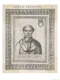 Pope Xystus (Sixtus) II Pope and Saint Giclee Print by  Cavallieri