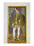 Henri II King of France Reproduction proc&#233;d&#233; gicl&#233;e par Francois Clouet