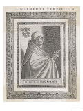 Pope Clemens III Giclee Print by  Cavallieri