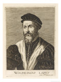 Wolfgang Lazius German Physician and Historian Giclee Print by Esme De Boulonois