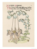 Bell Flower Giclee Print by Walter Crane