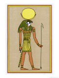 Moon-God of Thebes Worshipped in Various Forms Giclee Print by E.a. Wallis Budge