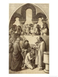 Ethelbert King of Kent is Baptised by Saint Augustine Giclee Print by H. Anderson