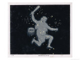 The Constellation of Hercules Giclee Print by Charles F. Bunt