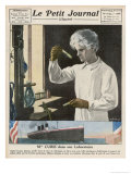 Marie Curie in Her Laboratory Giclee Print by Andre Galland