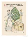 Box Plant Giclee Print by Walter Crane