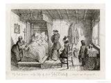 Henry V, Act II Scene III: The Last Scene in the Life of Sir John Falstaff Giclee Print by George Cruikshank