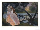 Marie Antoinette Giclee Print by Roger Broders