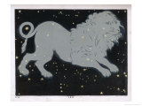 The Constellation of Leo the Lion Giclee Print by Charles F. Bunt
