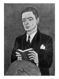 Thomas Stearns Eliot American Writer Giclee Print by Powys Evans