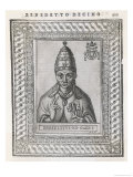 Pope Benedictus XII Giclee Print by  Cavallieri