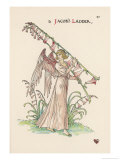 Jacob's Ladder Giclee Print by Walter Crane