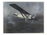 Charles Lindbergh Premium Giclee Print by A.w. Diggelmann