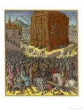 Nebuch. Takes Jerusalem Giclee Print by Jean Fouquet