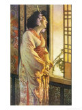 Blanche Bates in the Stage Play Madam Butterfly by Long and Belasco on Which the Opera is Based Giclee Print by Sigismond De Ivanowski