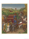 Shalmaneser in Triumph Giclee Print by Jean Fouquet