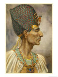Rameses II Also Known as Meryamun or Usermaatre a Powerful Ruler and a Prolific Builder Giclee Print by Winifred Brunton