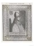 Pope Urbanus III Giclee Print by  Cavallieri