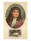 Anton Van Leeuwenhoek, Dutch Naturalist, Giclee Print