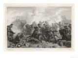 Battle of Fontenoy Giclee Print by Geille
