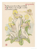 Primrose Personified, Giclee Print, Walter Crane