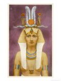 Hatshepsut Wife of Tuthmosis II Ruthlessly Ambitious Regent for Her Stepson Tuthmosis III Giclee Print by Winifred Brunton