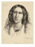 George Eliot Giclee Print by F.w. Burton