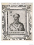 Pope Joannes XII Noted for His Fondness for His Mother La Belle Marozie Giclee Print by  Cavallieri